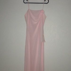 Dresses & Skirts - Light Pink Floor Length Prom Dress